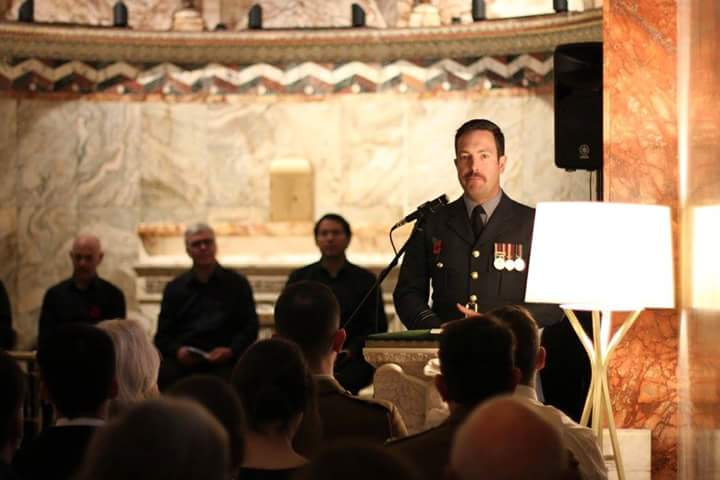 'A Soldier's Kiss' by Henry Chappell, read by Squadron Leader Andy Wasley.